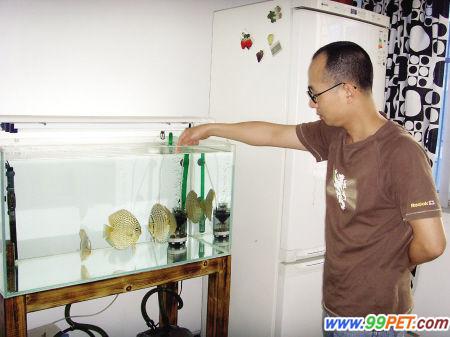 自制鱼缸水桶过滤器图