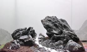 纯石景缸处女作《白沙溪》——40方缸