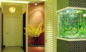 水景鱼缸为居室降温(图)