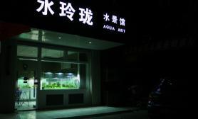 国内水族店水草缸造景江苏新沂尺寸设计水玲珑