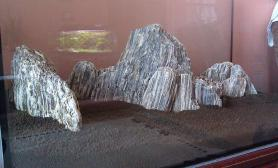 不规则石质的固定