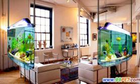 鱼缸如何摆设才能趋吉避凶(图)