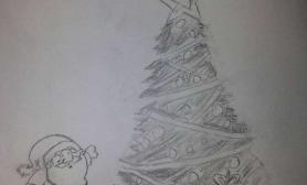 【圣诞活动】再来一手绘圣诞树
