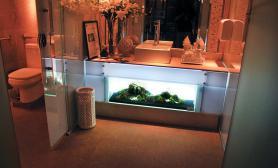 沉木青龙石造景缸与家装空间-40