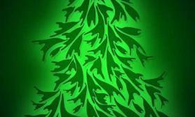 【圣诞活动】手绘圣诞树祝大家圣诞快乐