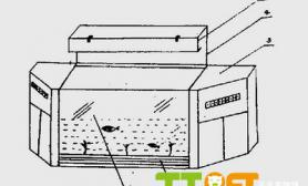 专利水草缸造景组合式变幻观赏水族箱