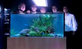 传说水草缸方缸最为考验一个人的造景技艺水草缸也最能体现一个人对造景之路的不懈追求鱼缸水族箱