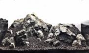 黄昏下的枫林水草缸一个梦幻般的草缸造景摆石