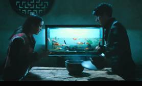 看看这《道士下山》导演组自己做的水族造景鱼缸水草缸霸气啊鱼缸水族箱 水族箱