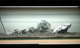 水草缸造景沉木水草泥化妆砂青龙石150CM及以上尺寸设计21