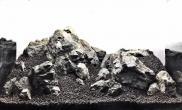 含过程60CM超白草缸青龙石超自然造景