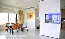 沉木青龙石造景缸与家装空间-03