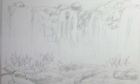 水草造景瀑布溪流缸开缸直播