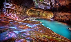 自然遗产图鉴02水草缸造景美国锡安公园美丽峡谷