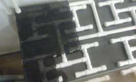 鱼缸造景90草缸(同程底滤+滤材+底滤板+不锈钢网+陶粒+水草泥)全水族箱