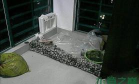 水族箱造景超强悍鱼缸水族箱鱼缸水族箱阳台造景过程(多图)
