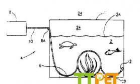 专利水草缸造景水族箱照明系统