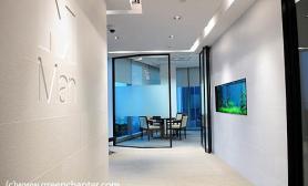 沉木青龙石造景缸与商业空间-14