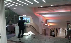 沉木青龙石造景缸与商业空间-41