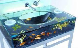 吸引眼球的创意鱼缸水池令人耳目一新(图)