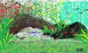 水草造景我的简笔画景造完了沉木杜鹃根青龙石水草泥沉木杜鹃根青龙石水草泥沉木杜鹃根青龙石水草泥