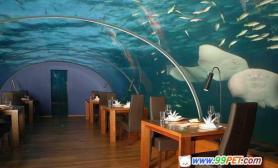 世界上首家海底餐馆(图)