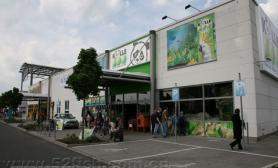 德国的水族店展示