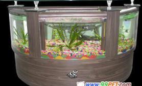 田园风情生态鱼缸(图)