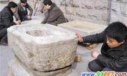 民俗博物馆获赠清末民初石质鱼缸(图)