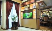 沉木青龙石造景缸与家装空间-10