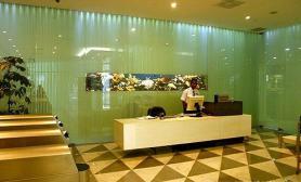 沉木青龙石造景缸与商业空间-13