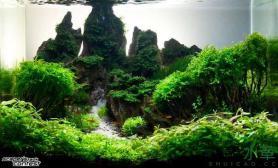 松皮石打造的大峡谷