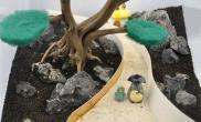 宫崎骏系列造景水草缸龙猫上阵鱼缸水族箱